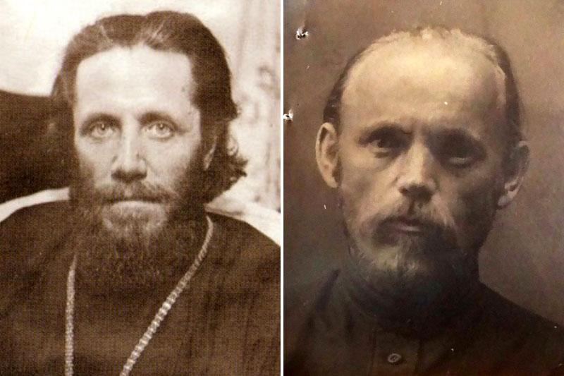 архиепископ Иннокентий (Тихонов) и священник Иоанн (Иван Александрович) Савичев