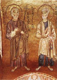 Апостолы Андрей и Петр