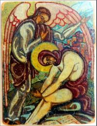 Преп. Мария Египетская. Икона матери Марии (Скобцовой)