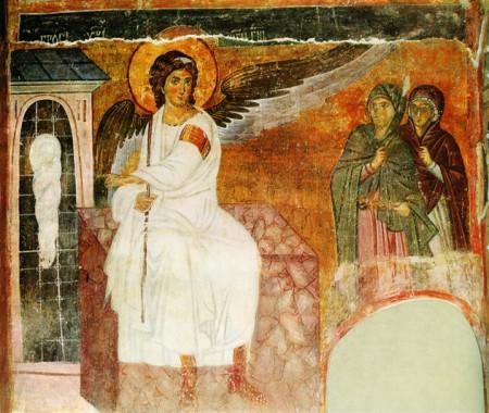 Фреска церкви Вознесения