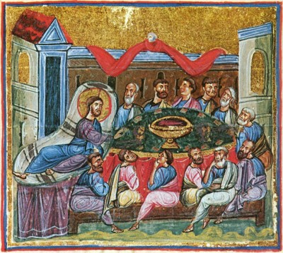 Тайная вечеря (Иоанн 13: 1-20)