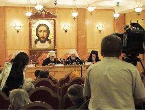 Пресс-конференция арх. собора-2008