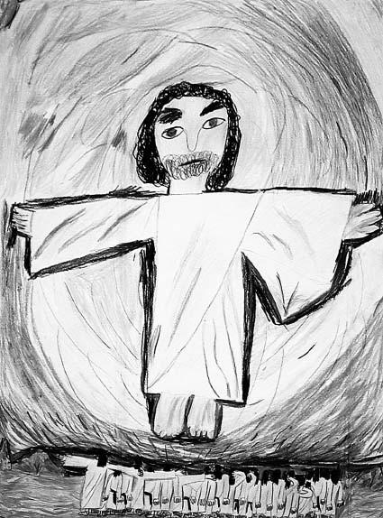 Дети рисуют Бога